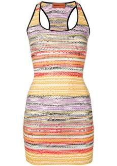 Missoni rainbow knit dress