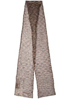 Missoni reversible knit scarf