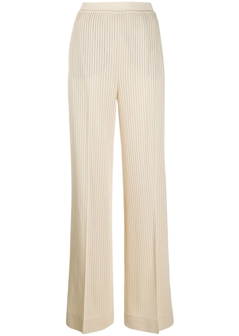 Missoni ribbed knit trousers