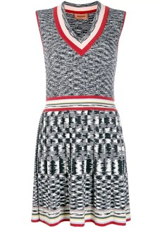 Missoni ribbed knitted dress