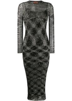 Missoni sequin embellished dress