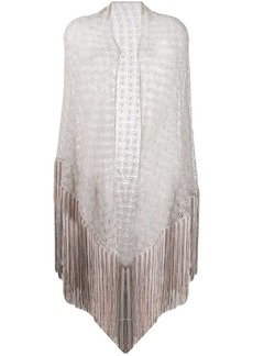 Missoni sheer fringed scarf