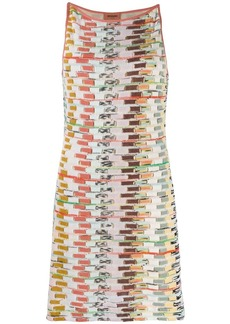 Missoni short fine knit dress