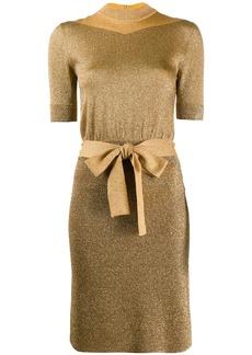 Missoni short-sleeve belted dress