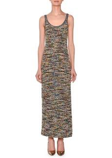Missoni Sleeveless Scoop-Neck Space-Dye Long Dress