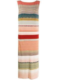 Missoni sleeveless striped dress
