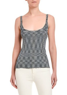 Missoni Space-Dye Scoop Neck Tank Top