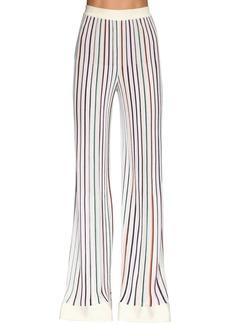 Missoni Stretch Knit Wide Leg Pants
