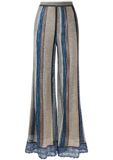 Missoni stripe knit trousers