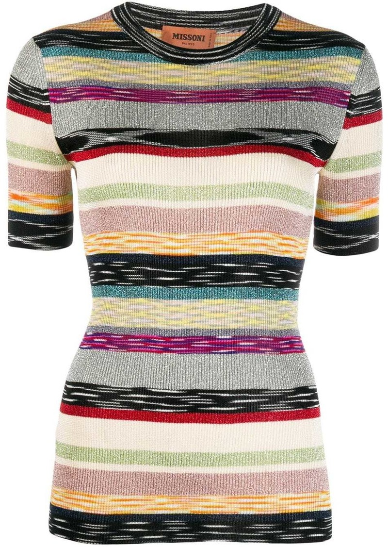 Missoni stripe print T-shirt