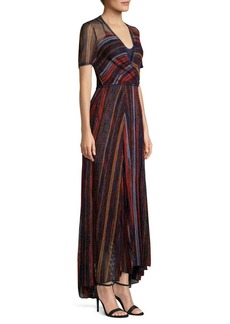 Missoni Long Sleeve A-Line Gown
