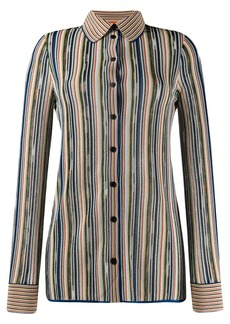 Missoni striped button shirt