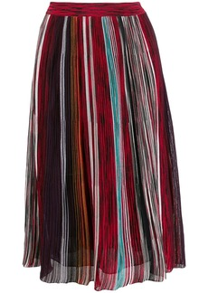 Missoni striped flared skirt