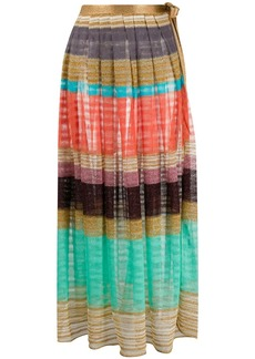 Missoni striped knitted maxi skirt