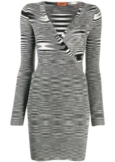 Missoni striped long-sleeve dress
