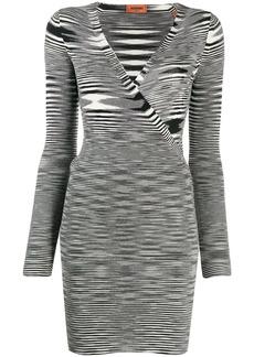 Missoni striped long-sleeve dress