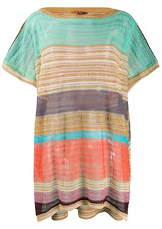 Missoni striped loose-fit top