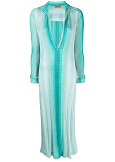Missoni striped maxi dress