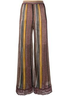 Missoni striped palazzo trousers
