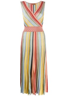 Missoni striped pleated dress
