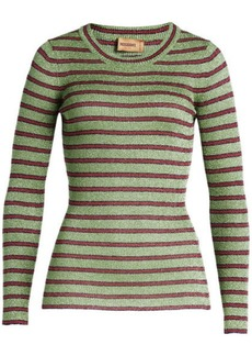 Missoni Striped Pullover with Metallic Thread