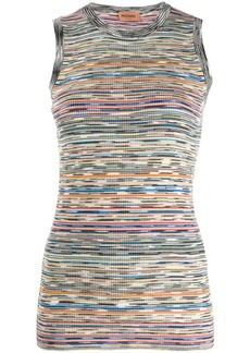 Missoni striped ribbed top