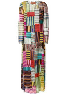 Missoni striped squares maxi dress
