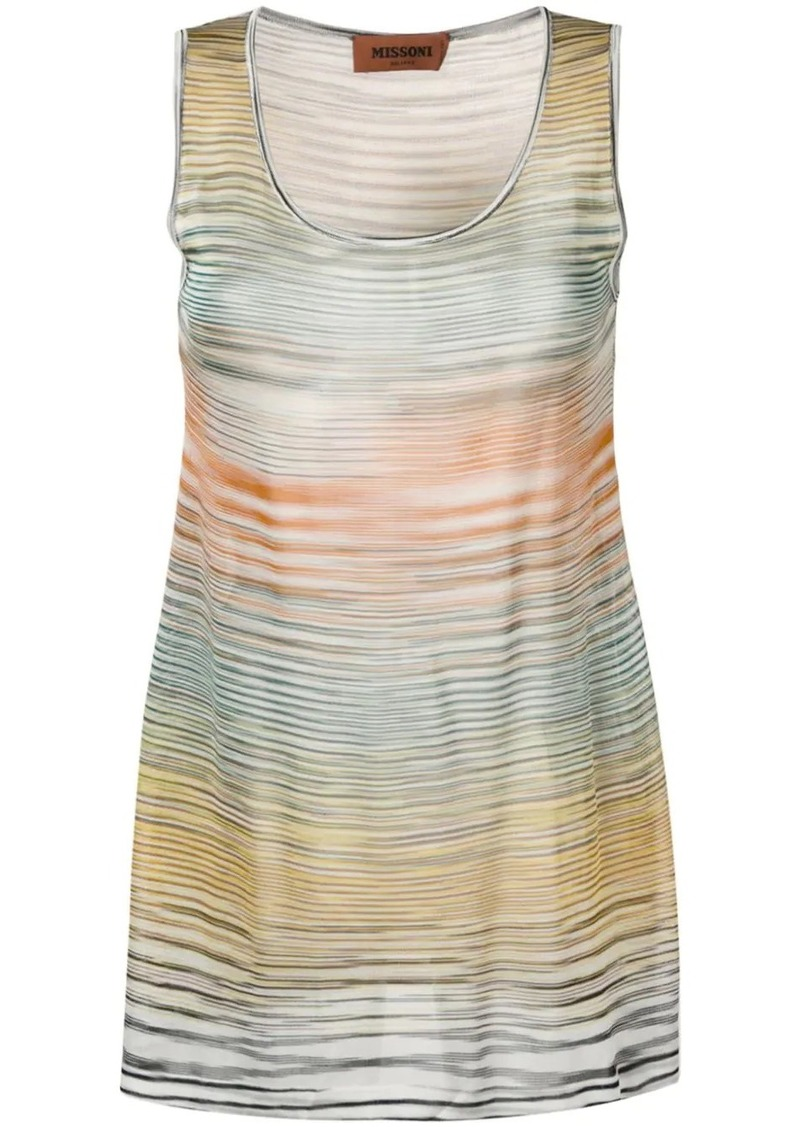 Missoni striped tank top