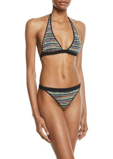 Missoni Striped Two-Piece Bikini Set