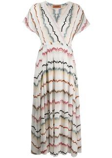 Missoni striped v-neck dress
