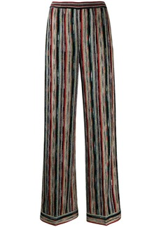 Missoni striped wide leg trousers