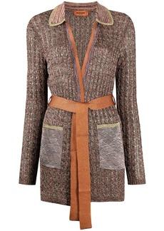 Missoni textured-knit cardigan