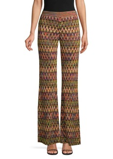 Missoni Textured Zig-Zag Flare Pants