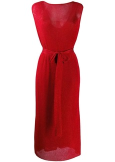 Missoni tie waist dress