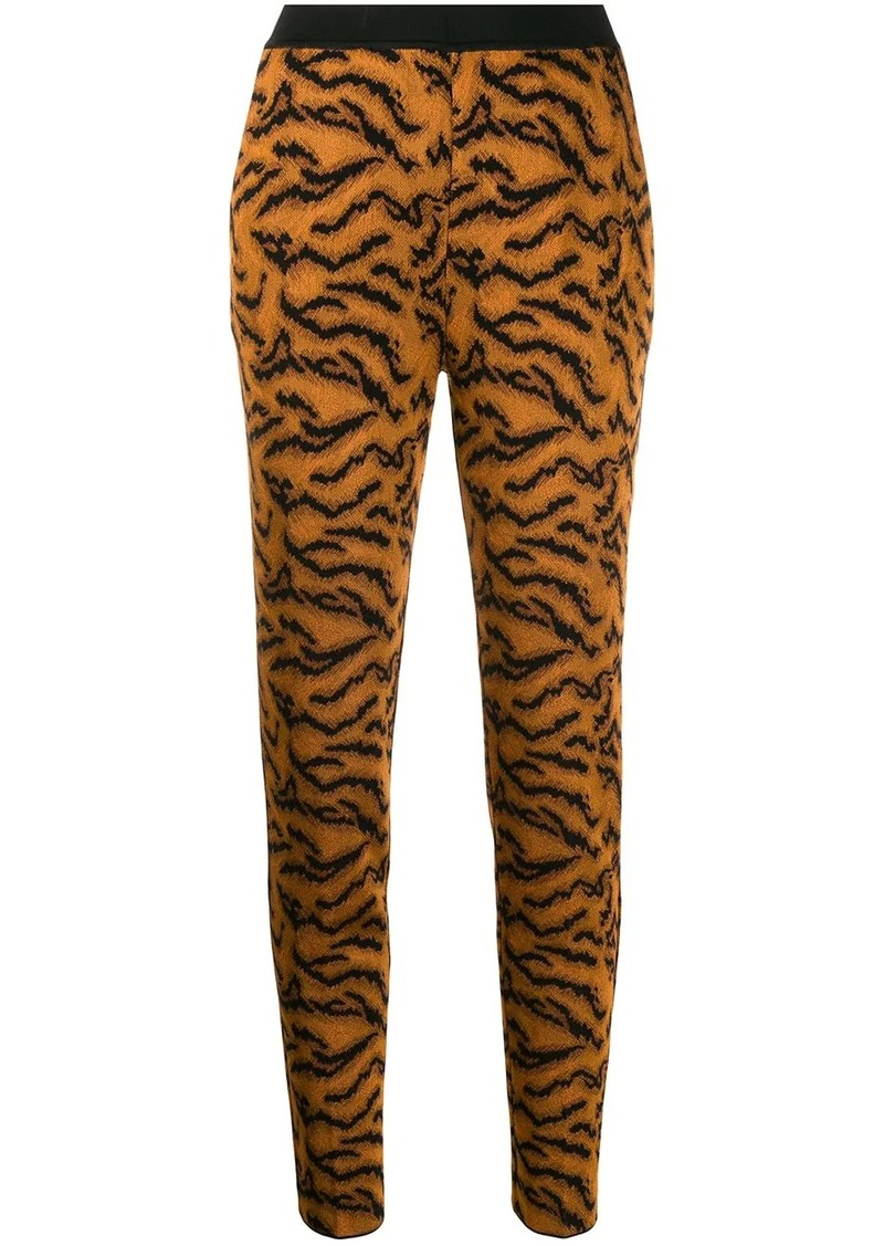 Missoni tiger pattern leggings