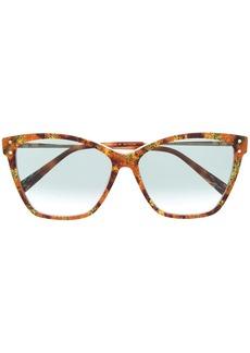Missoni tortoiseshell cat-eye sunglasses