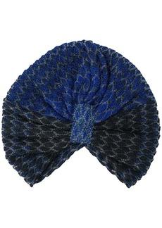 Missoni turban knit hat