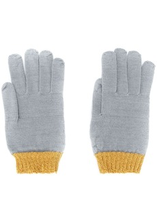 Missoni two-tone gloves