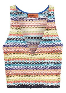 Missoni V-Neck Knit Top