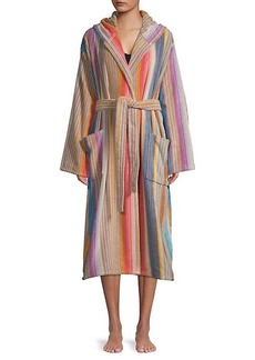 Missoni Viviette Striped Bathrobe