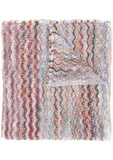 Missoni wave pattern scarf