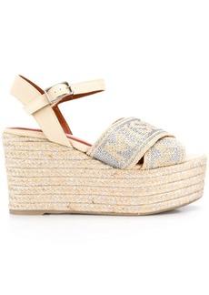 Missoni wedged espadrille sandals