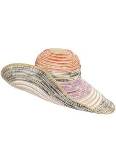 Missoni Wide Brim Straw Hat