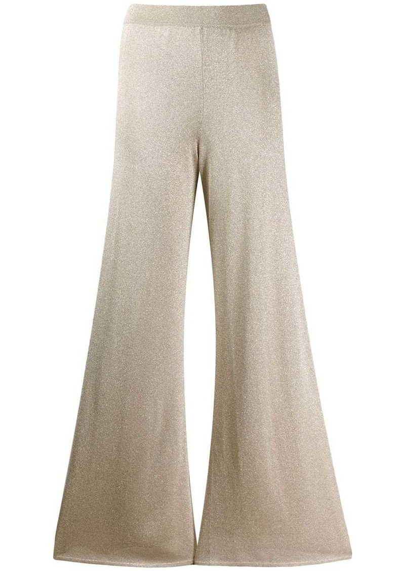 Missoni wide-leg flared trousers
