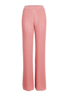Missoni Wide-Leg Pants with Wool