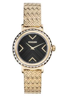 Women's Missoni Chevron Joy Bracelet Watch