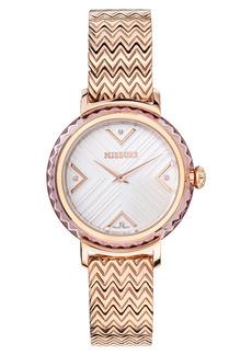 Women's Missoni Chevron Joy Diamond Bracelet Watch
