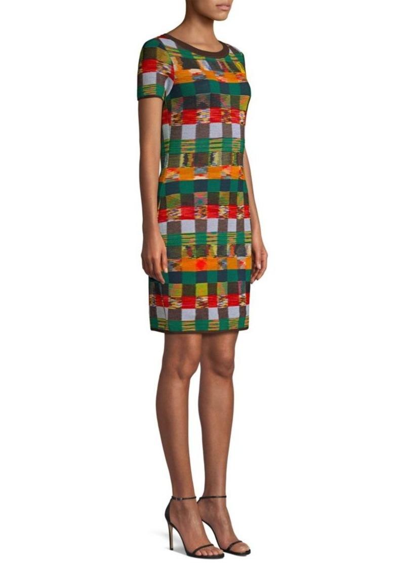 1b7be1ef414 SALE! Missoni Wool Knit Check Sweater Dress