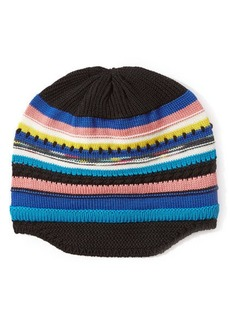 Missoni Wool Striped Knit Beanie