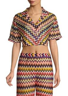 Missoni Zigzag Iconico Cropped Shirt